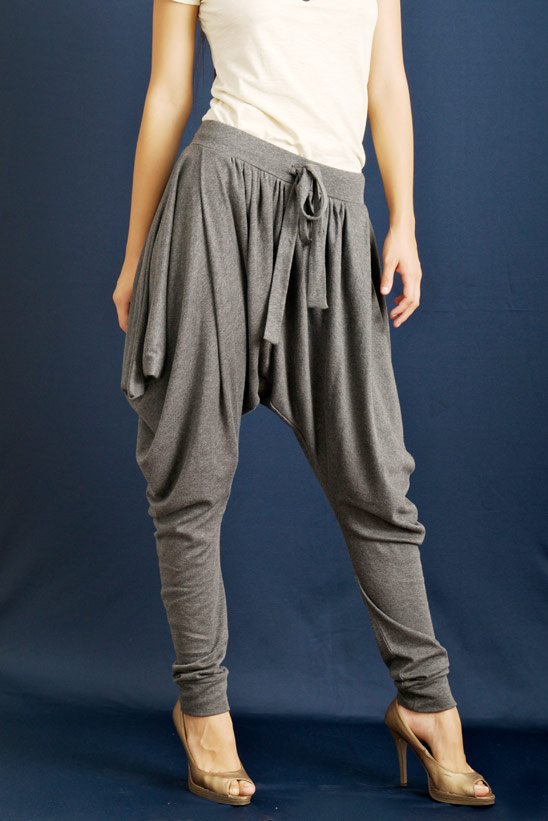Women's Plus-Size Harem Pants