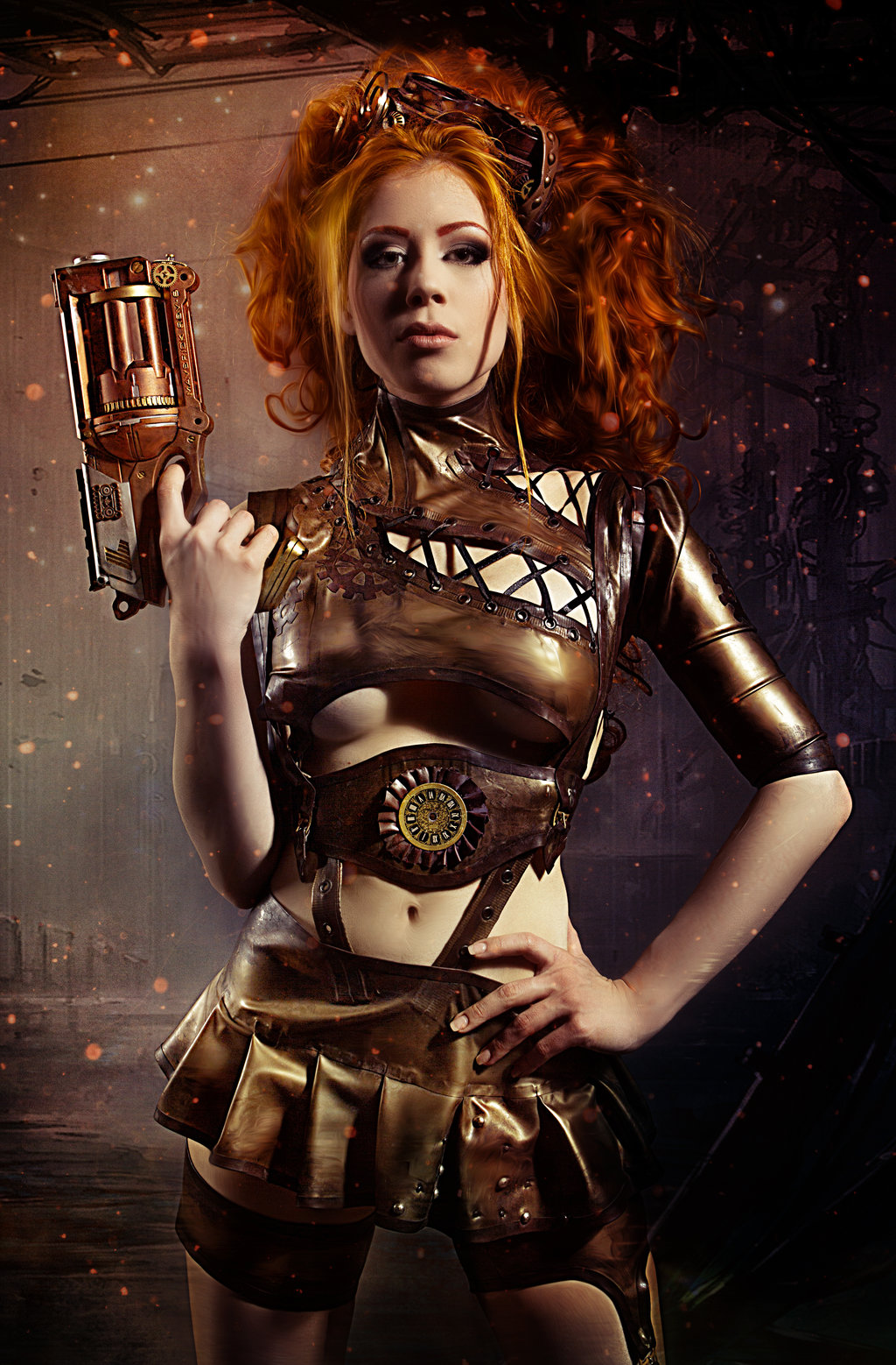 Steampunk couture pictures - Steampunk style vestimentaire ...