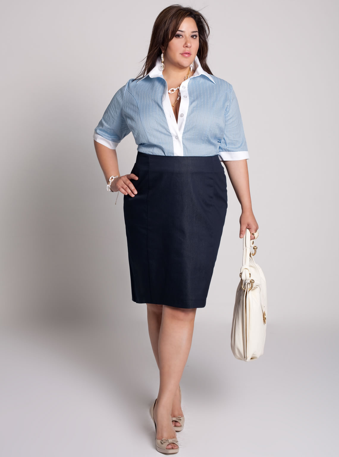 Shop through our selection of beautiful plus size apparel where you will find unlimited styles, colors, and designs to choose from. Stay comfortable and trendy with a shirt that snuggles your curves perfectly.