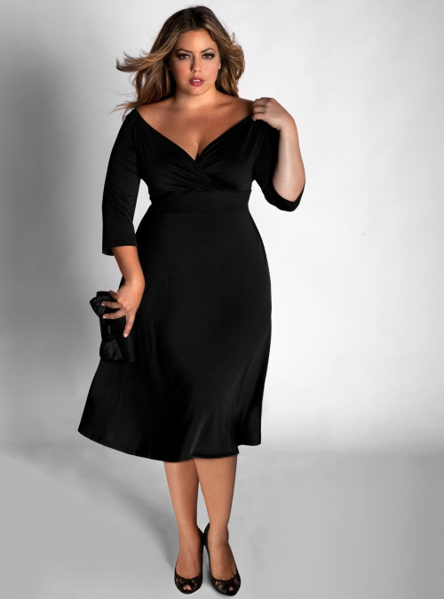 black-plus-size-dresses