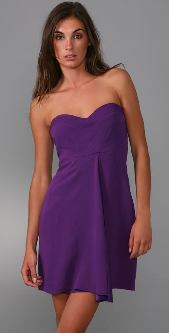 short purple strapless dresses « Bella Forte Glass Studio