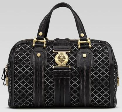 Black gucci-handbag