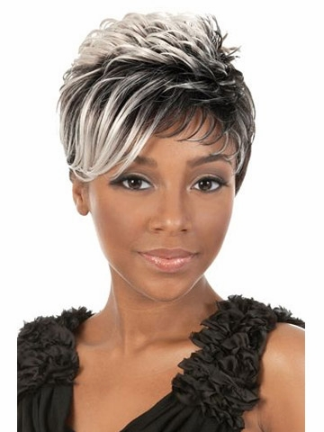 African pixie hairstyle
