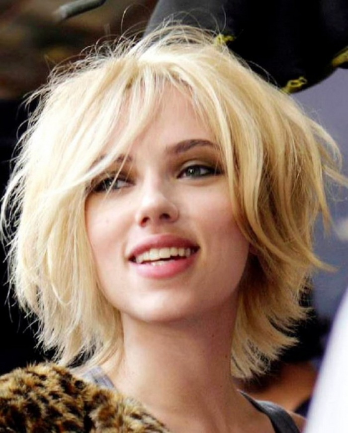 Short Messy Hairstyle